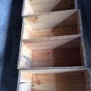 ★リンゴ箱4個★ お洒落なインテリア棚にピッタリ