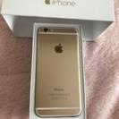 iPhone6 64G ゴールド ...