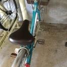 24インチ自転車★水色★あげます
