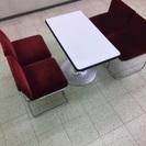商談机、椅子セット