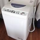 シャープ 洗濯機 ES-TG55L-A 5.5kg Ag+イオンコート
