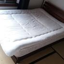 140x200cmのベッド、緊急で売ります!マットレス付き