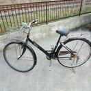普通の自転車 ぼろぼろですけど乗れます