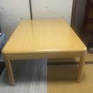 ニトリのコタツテーブル