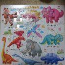 恐竜パズル28,5㎝×29,0㎝
