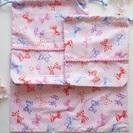 入園・入学セット【ribbon・Princess】体操着袋・給食袋...