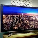 シャープAQUOS 46型液晶テレビ(亀山モデル)2画面表示可能