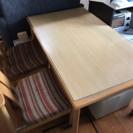 【取引中】無料!ダイニングテーブル&椅子4脚