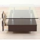 ガラス センターテーブル