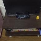 テレビ台とピンク収納ボックスを大セール