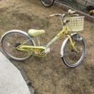 【取引中】20インチ 女児 自転車
