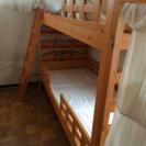 宮付き  二段ベッド
