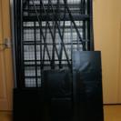 【中古】階段付きロフトベット 色:ブラック BD70-49