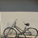 丸石中古自転車 美品 27インチ ギア付 シルバー maruishi
