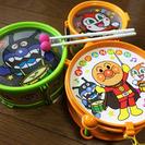 【中古】アンパンマン 太鼓のおもちゃ