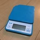 タニタ デジタルクッキングスケール KD-187 (ブルー)