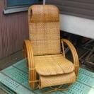 これからの時期に最適!籐家具 リクライニングチェアー