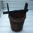 レトロな味噌樽