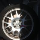 AEVAN  タイヤ、ホイル セット 4本。