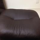 ソファーの足置き