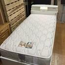 照明付き、宮付き、コンセント付き、収納付き シングルベッド 売ります