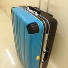 大型スーツケース 水色 TSAロック
