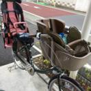 ありがとうございました。子供乗せ自転車3人乗り‼︎