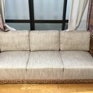 バリ風ソファ・テーブル