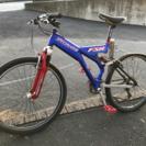 【交渉中】タイヤパンク自転車(修理必要)