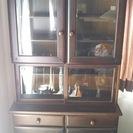 【値下げ】カリモク、食器棚