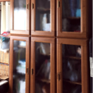 家具調本棚  しっかりした本棚