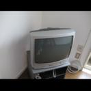 ジャンク品 21型ブラウン管テレビ