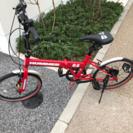 ハマーの自転車 鍵もお付けします。