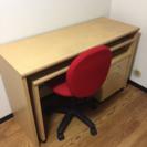 机、椅子、引出し4点セット