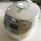 東芝 炊飯器 RC-10HH IH保温釜 ホワイト 1.0L TOSHIBA美品 - 豊川市