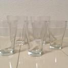 ガラスのコップ 5点セット