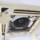 業務用天井埋め込みエアコン分解洗浄