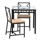緊急値下げ【美品】IKEA テーブル&チェア2脚