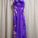 ドレス☆紫☆試着のみ☆美品
