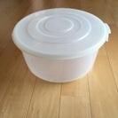 プラスチック容器 大 12ℓ (直径30cm)