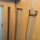 シングルベッドフレーム・頑丈で上質な天然木製・組立@京都