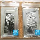 【iphone6/6S用ケース】「スーパーマン」クリアケース2コセ...