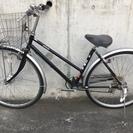 自転車 26型 6段変速 オートライト カゴ(大型)