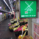 花屋(レジ接客、簡単な花束包装)