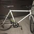 クロスバイク 24インチ 白