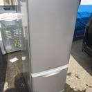 040704 2ドア冷蔵庫 SHARP シルバー