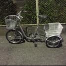 【中古】大人用三輪車