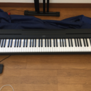 電子ピアノYAMAHA p45B 16年製  スタンド、ヘッドフォン付