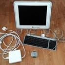 【ジャンク品】 mac デスクトップ他周辺機器