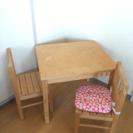 ☆IKEAの子供テーブルと椅子のSet☆